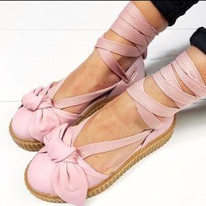 Fenty x Puma by Rihanna Leather Creepers sandal